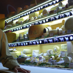 Hervé Mons vem promover o queijo na ExpoZebu 2017
