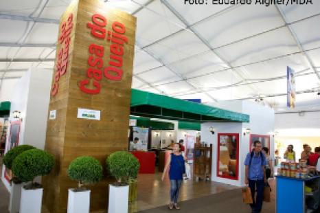Variados tipos de queijo chamam atenção no Brasil Rural Contemporâneo