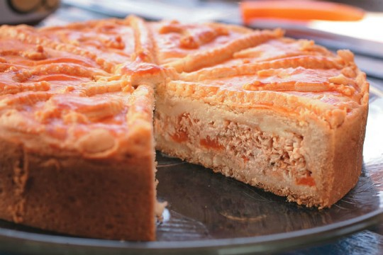 Torta Maria: doze receitas salgadas, como a de frango com catupiry (Foto: Fernando Moraes)