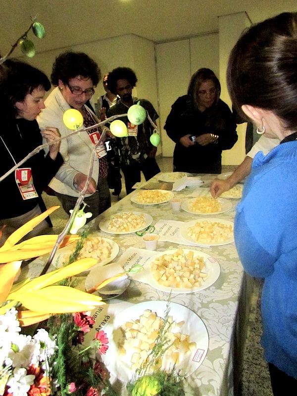Foto 2. Alguns dos queijos artesanais do Brasil