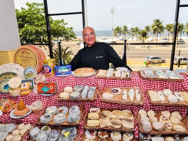 Poulard convidará os participantes do evento para uma viagem pela França, a partir da degustação de uma exclusiva seleção de queijos, escolhidos pessoalmente por ele Foto: Divulgação