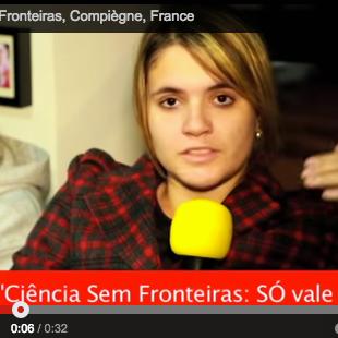 """Ciência Sem Fronteiras leva brasileiros para os """"sertões"""" da França"""