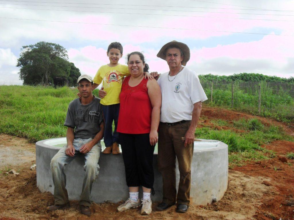 Família Faria da fazenda Santiago