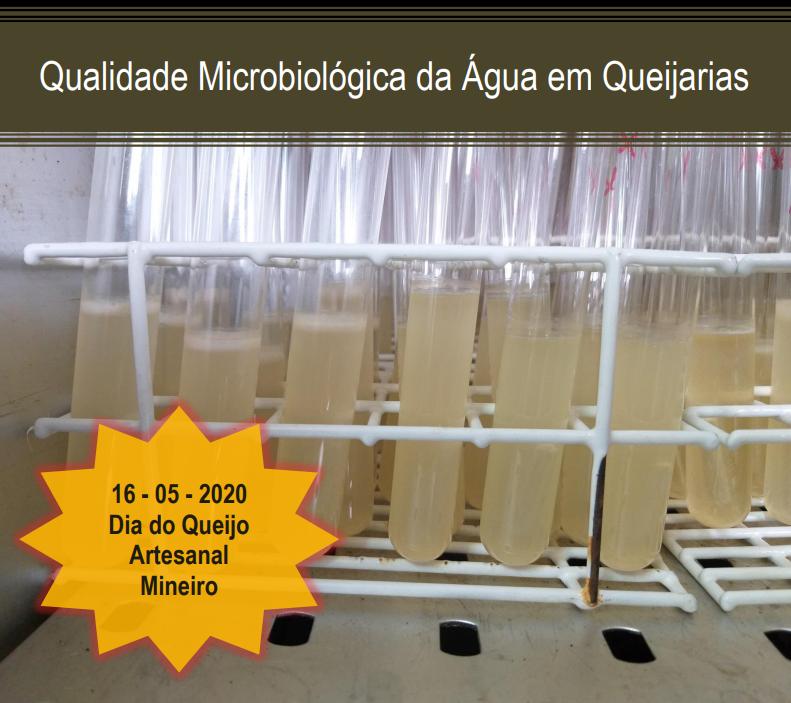Teste qualidade microbiológica de água nas queijarias